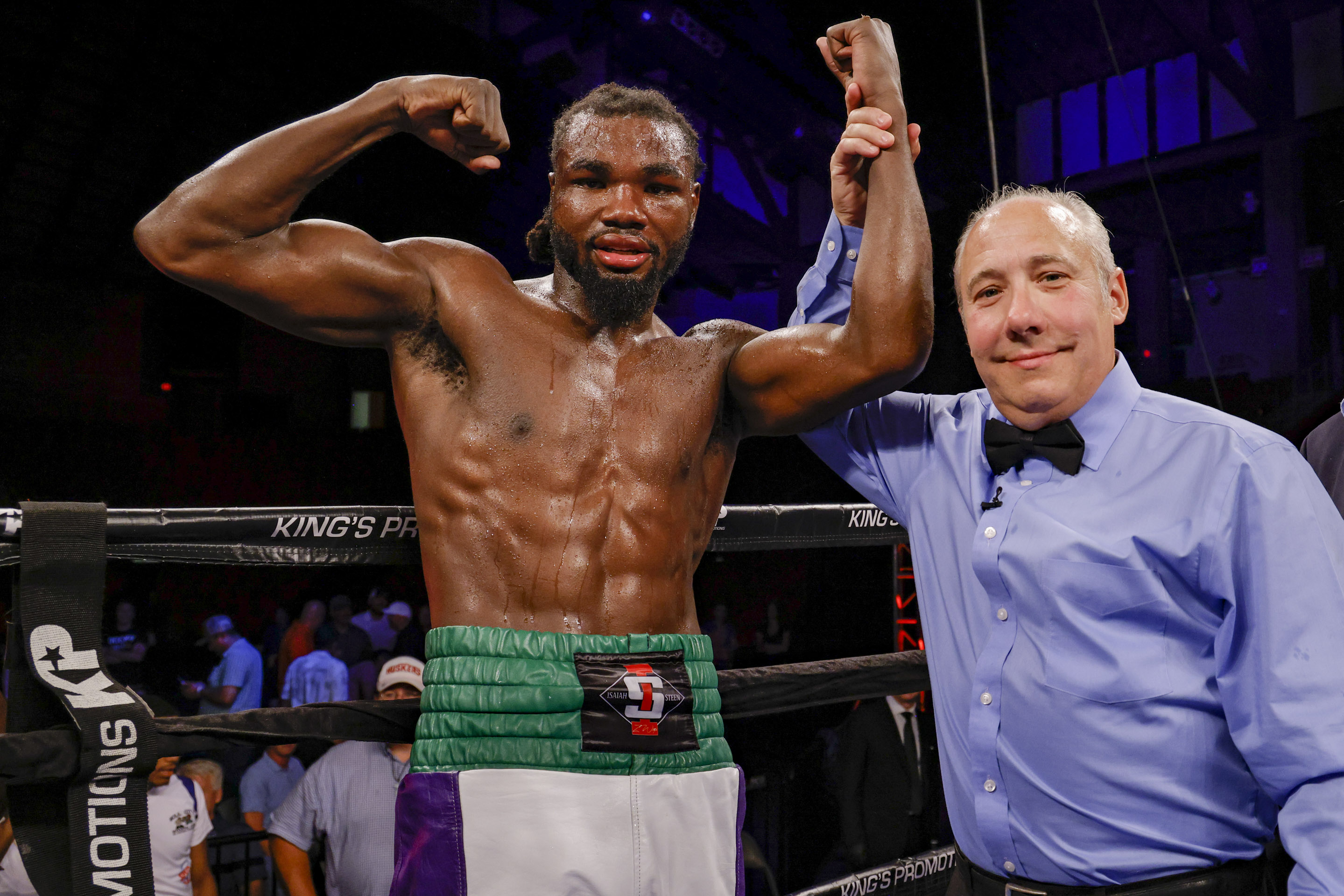Isaiah Steen wins convincingly in the main event on the 20th anniversary  ShoBox show - The Ring
