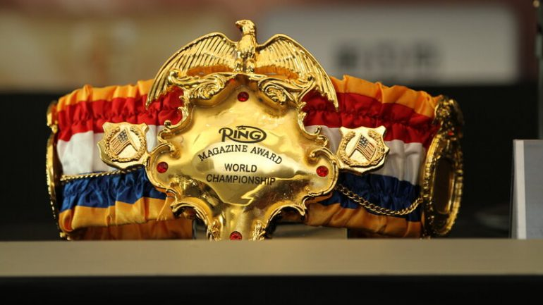 Manny Pacquiao-Errol Spence winner will be The Ring welterweight champion