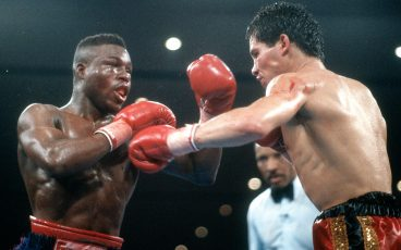 Glory and controversy were forever linked the night Chavez beat Meldrick Tyalor
