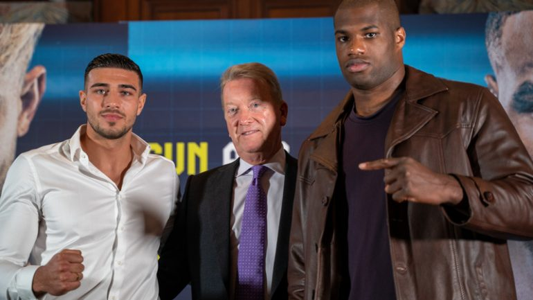 Press Conference Quotes: Daniel Dubois and Tommy Fury will debut in the US