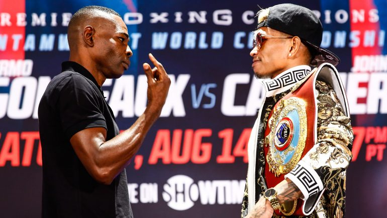 Casimero and Rigondeaux, both confident of victory, look to future showdowns with Donaire, Inoue