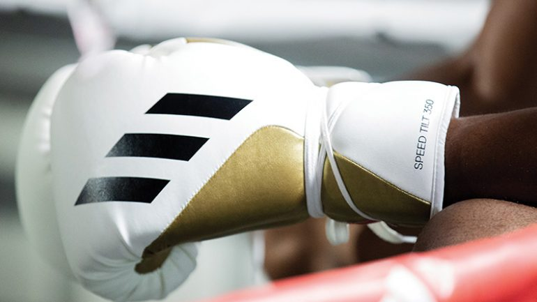 Adidas Boxing unveils the new TILT 350™ boxing gloves: 'good for athletes, good for the environment'