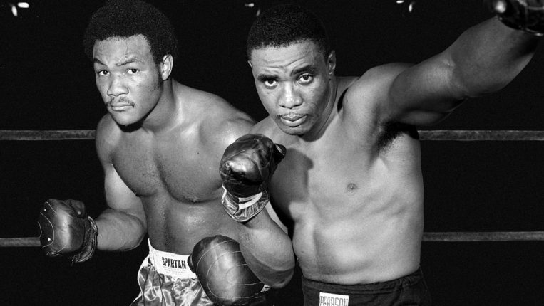George Foreman vs. Sonny Liston A mythical matchup for the undisputed heavyweight championship