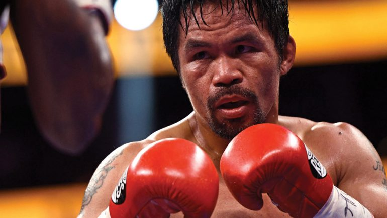Manny Pacquiao announces run for Philippine president