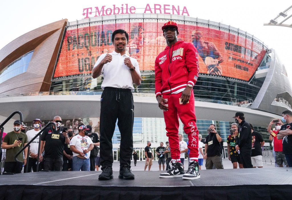 'Bipartisan' Manny Pacquiao not worried about switching from southpaw Spence to righty Ugas
