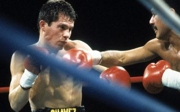 The rise to P4P supremacy began with Chavez's victory over Edwin Rosario