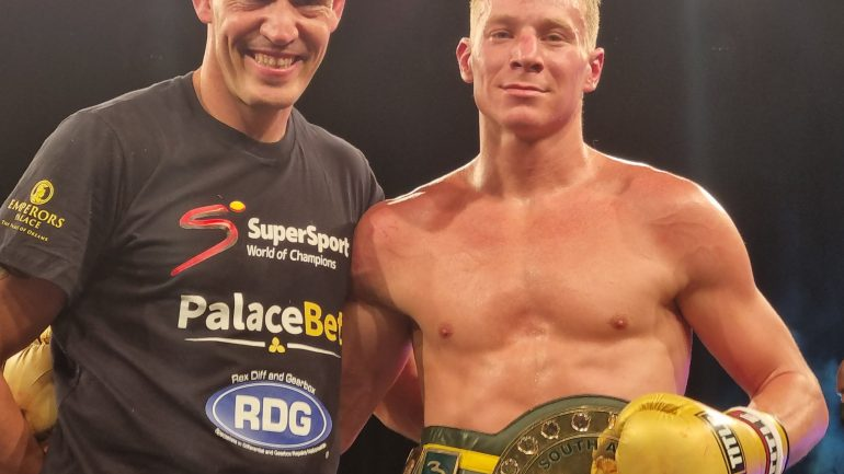 Shervantaigh Koopman, Cowin Ray shine in South African fight night