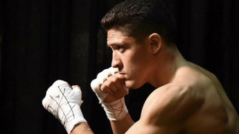 Giovani Santillan pumped to be back fighting in hometown