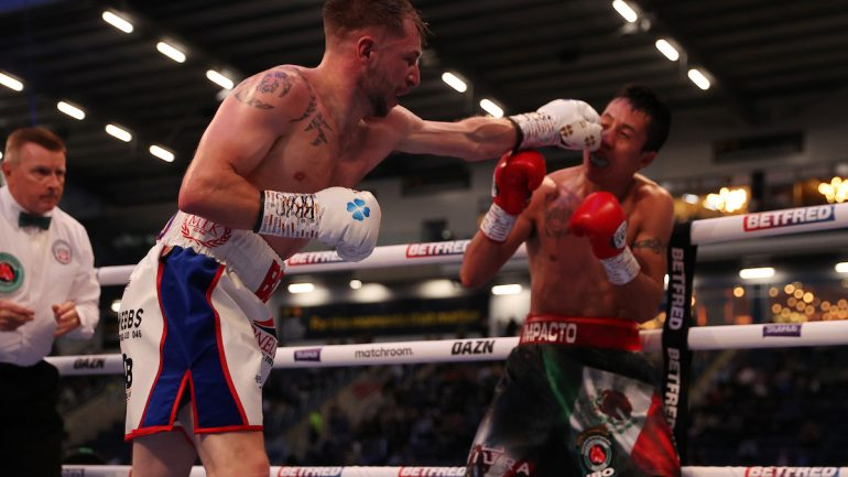 Talented lightweight Maxi Hughes signs with Matchroom Boxing, willing to take on Devin Haney