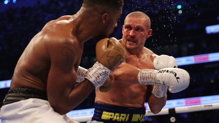 'Fighting Words' — Joshua-Usyk: The Road Warrior and The Detour