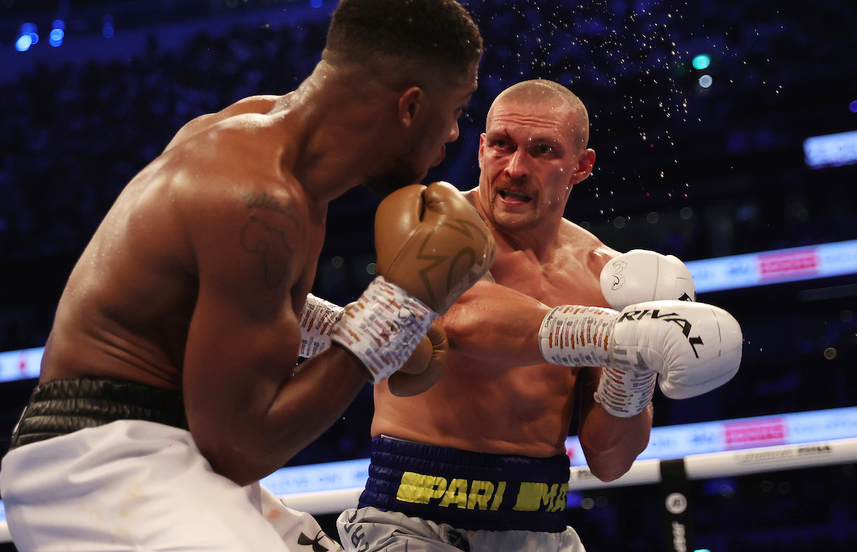 Gray Matter: Joshua-Usyk and the lessons learned
