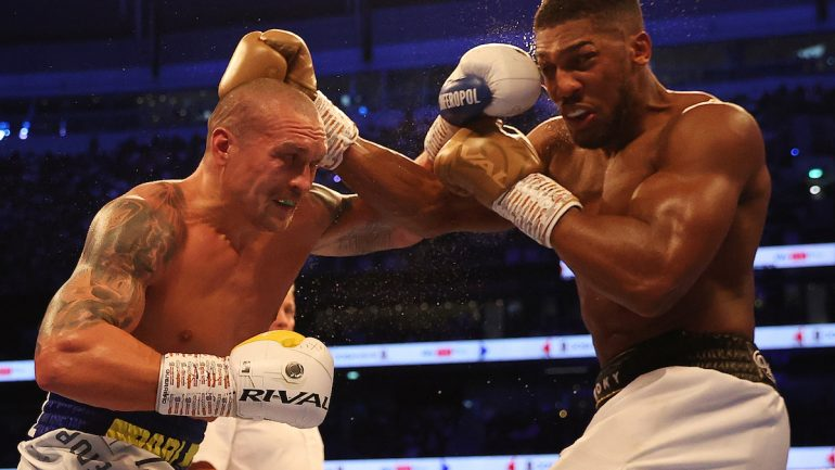 Oleksandr Usyk outboxes Anthony Joshua to unanimous decision, wins unified heavyweight titles