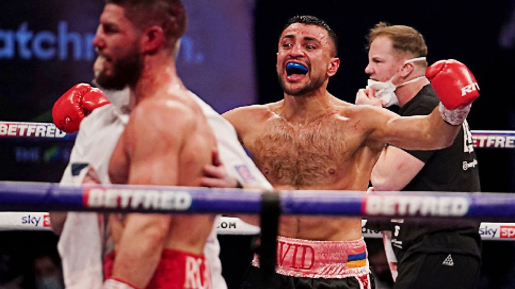 David Avanesyan vows to be as sharp as ever for Liam Taylor, calls out Crawford, Spence and Ugas