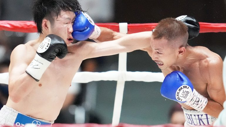 Masamichi Yabuki could be on the verge of signing with Matchroom Boxing