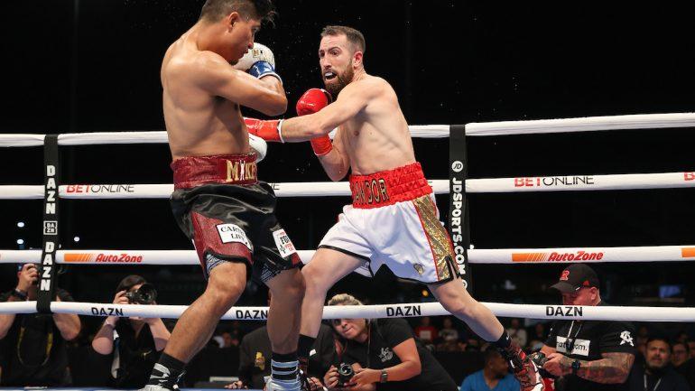 Sandor Martin pulls a sensational upset, defeats Mikey Garcia via 10-round decision