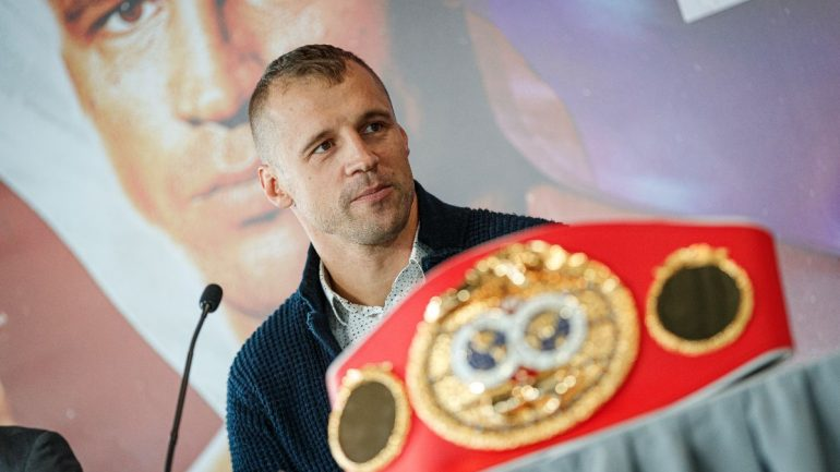 Mairis Briedis bids farewell to Latvian fans in presser ahead of his Ring championship fight
