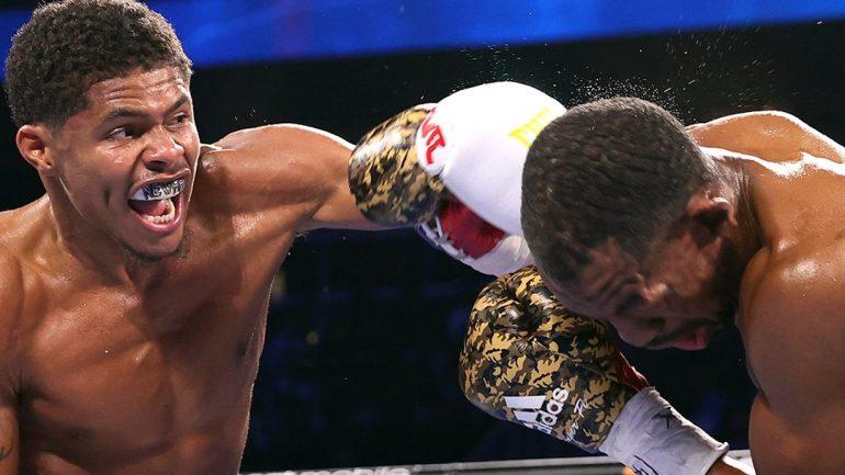 Shakur Stevenson dominates Jamel Herring to 10th-round TKO, wins WBO 130-pound title