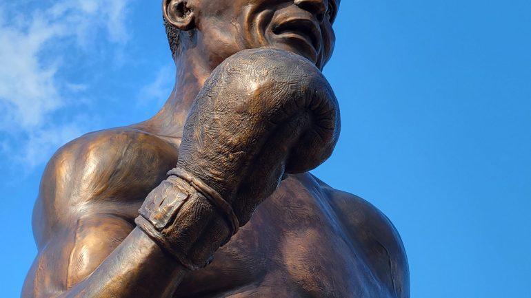 Camden Honors the legendary Jersey Joe Walcott with a statue
