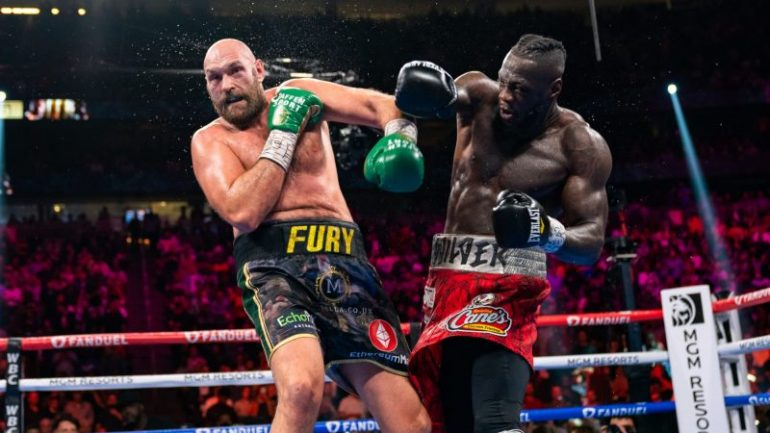 'Fighting Words' — Fury-Wilder 3: Five Knockdowns and Two Elevations