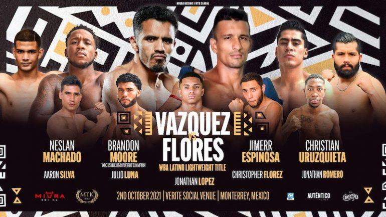 Miguel Vazquez outpoints Oliver Flores in Monterrey