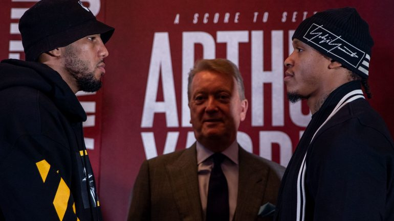 Lyndon Arthur vs. Anthony Yarde 2: Press conference quotes