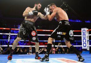 Artur Beterbiev vs Oleksandr Gvozdyk action8 300x208 - Dougie's Friday Mailbag (Super Saturday, Charlo picks, Sugar Ray Leonard)
