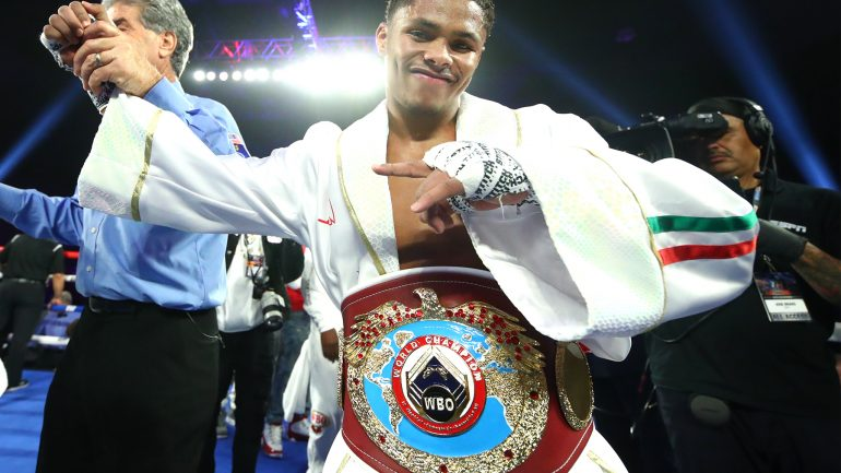 Shakur Stevenson-Rafael Rivera title fight in the works, says Top Rank's Moretti