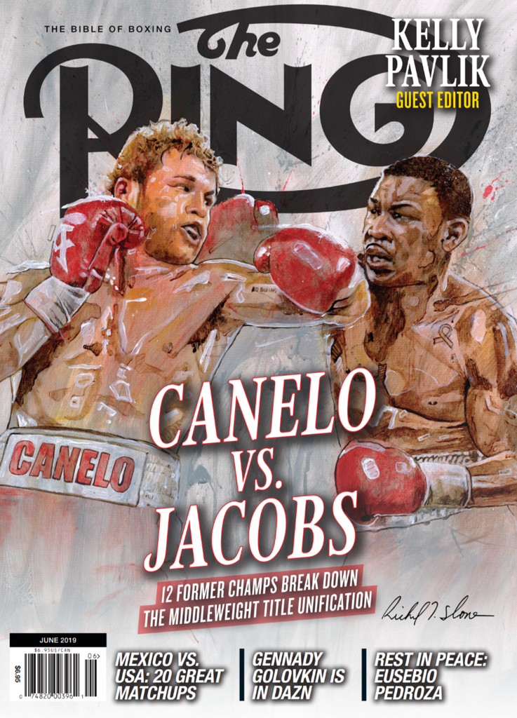 rsz june 2019   canelo vs jacobs cover - Callum Smith to defend Ring magazine and WBA super middleweight titles against Hassan N'Dam on June 1