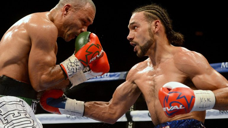 No tune-up for Thurman before Garcia in March