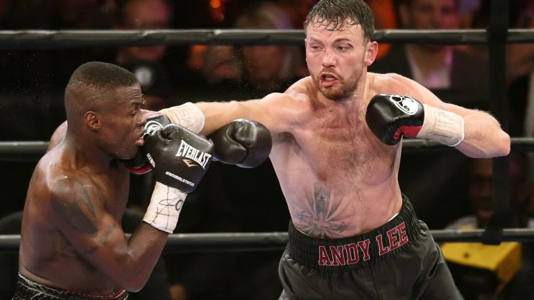 Andy Lee doesn't want any tune-ups