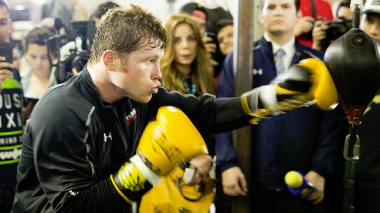 Canelo says he will stay at middleweight after bout with Chavez Jr.