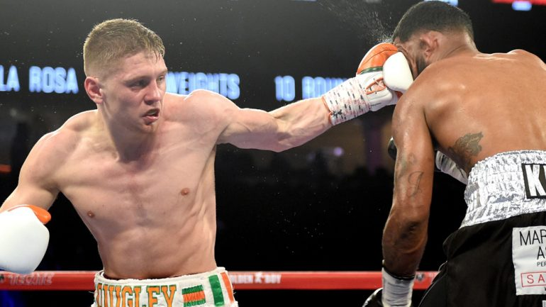 Hopkins-Smith undercard results: Quigley ices Melendez in Round 1