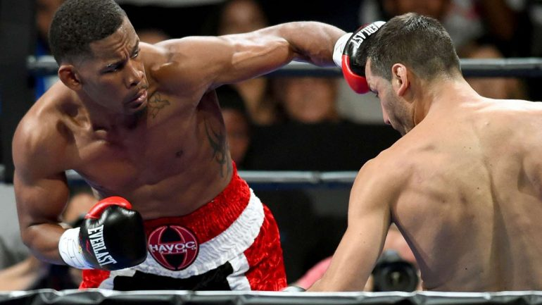 Daniel Jacobs, Sergio Mora warm up for rematch on conference call