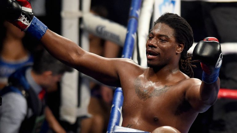 Charles Martin working with Jameel McCline as he preps for comeback