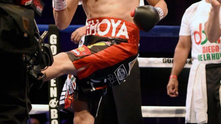 Diego De La Hoya vs Giovanni Delgado by Naoki Fukuda