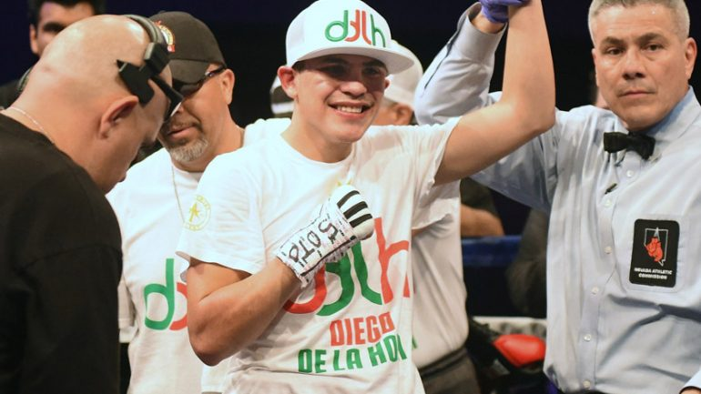 Diego De La Hoya faces Erik Ruiz in 'Golden Boy on ESPN' headliner