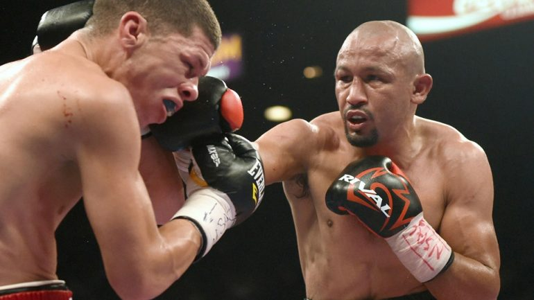 Orlando Salido hurts back, is off Dec. 17 HBO card