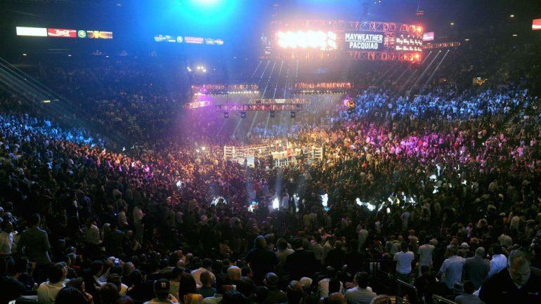 Floyd Mayweather Jr vs. Manny Pacquiao by Naoki Fukuda
