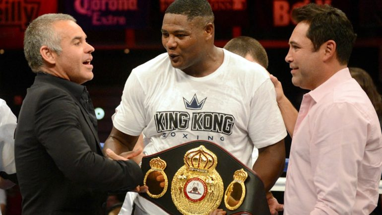 Luis Ortiz and Malik Scott to clash on 'HBO Boxing After Dark'