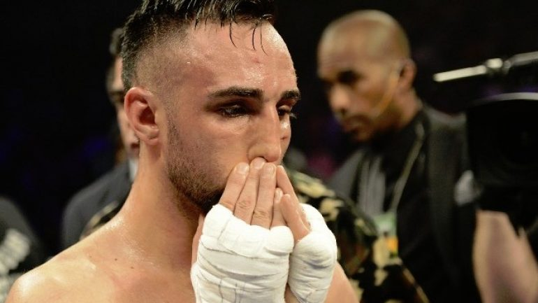 Paulie Malignaggi: 'No more coming back now'