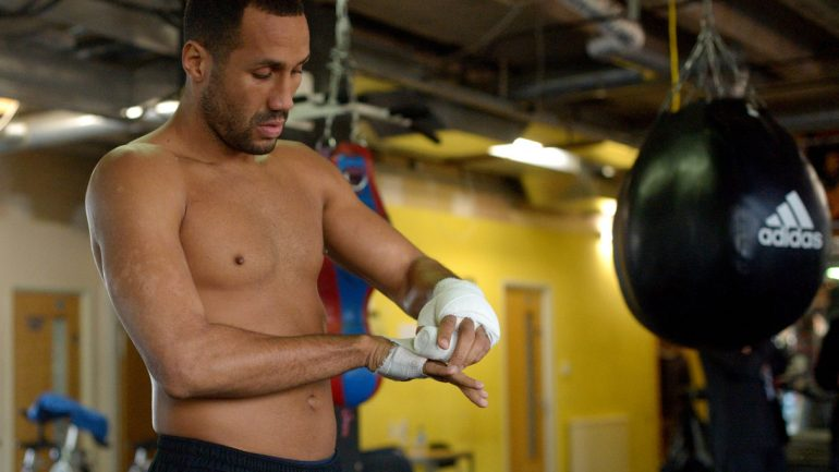 James DeGale workout 11-16-15 by Frank Coppi – Matchroom Boxing
