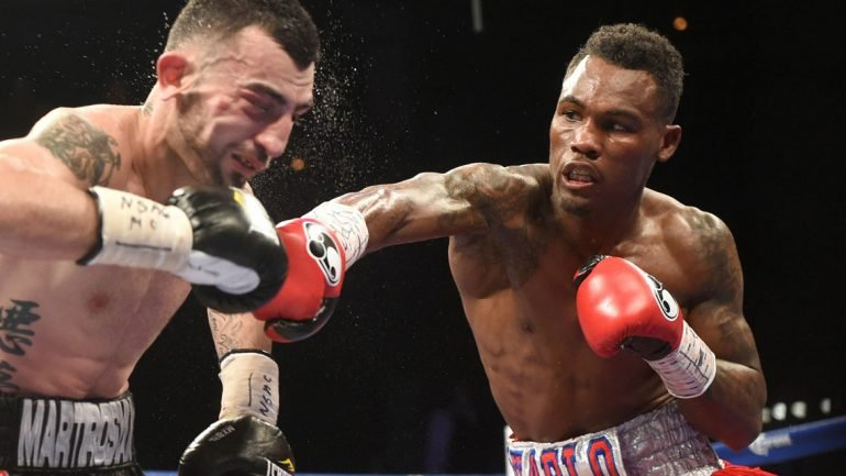 Jermell Charlo vs. Charles Hatley moved to April 22 on Showtime