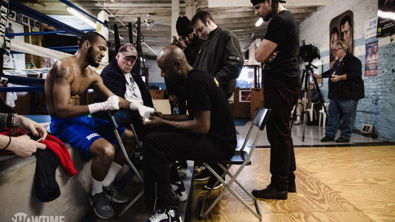 Julian Williams workout 3-2-16 by Amanda Westcott/Showtime