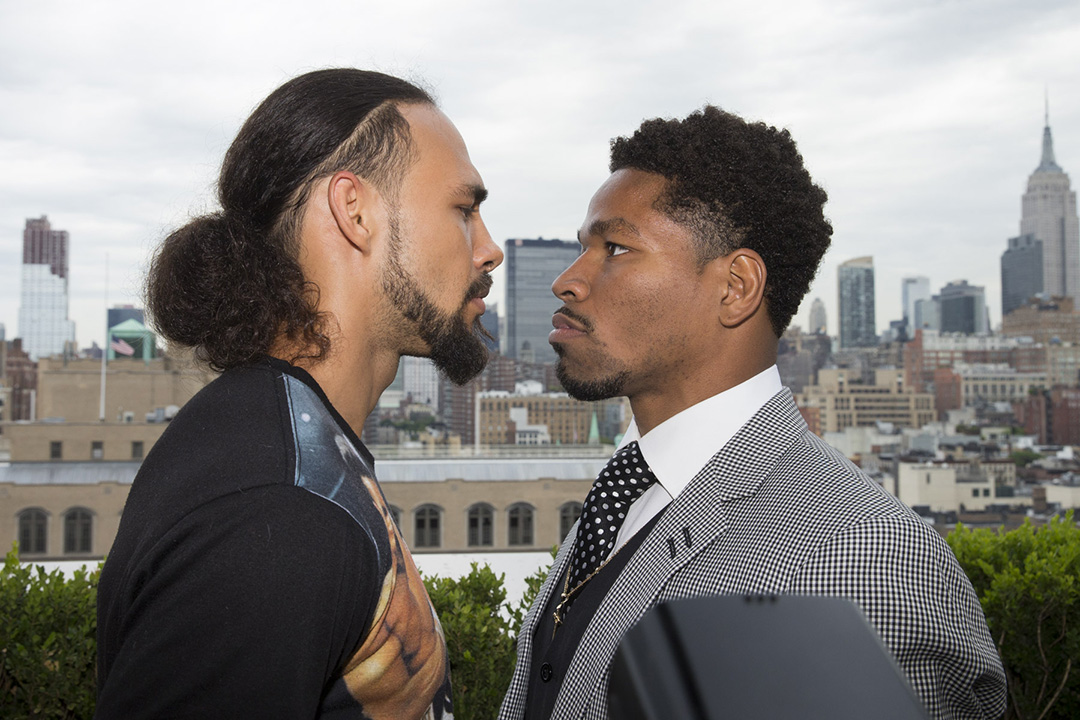 018 keith thurman and shawn porter - Dougie's Friday mailbag (Pacquiao-Thurman, Kovalev and the light heavyweights, Naoya Inoue)