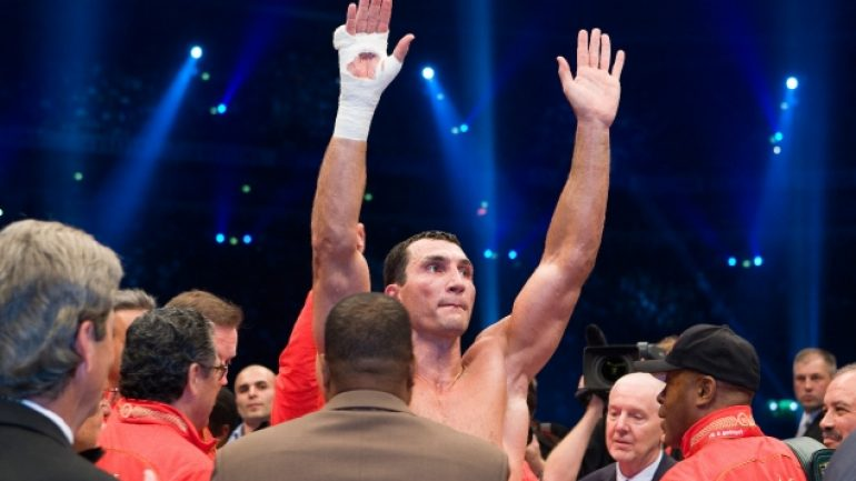 Wladimir Klitschko and the world title bout, title-reign kings