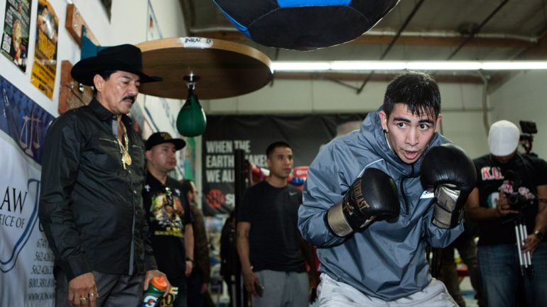 Leo Santa Cruz: I want to fight the best and who better to fight than Gervonta Davis?