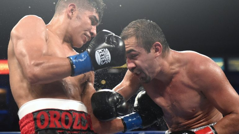 Antonio Orozco is back to face KeAndre Gibson April 1 on ESPN2