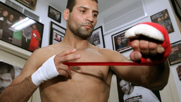 Luis Abregu workout 10-3-14