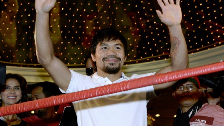 Manny Pacquiao: The hardest working man in boxing?