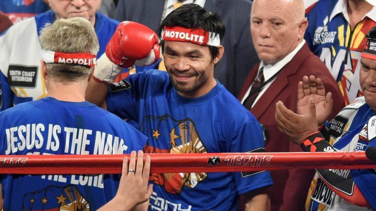 Manny Pacquiao vs Tim Bradley III by Naoki Fukuda